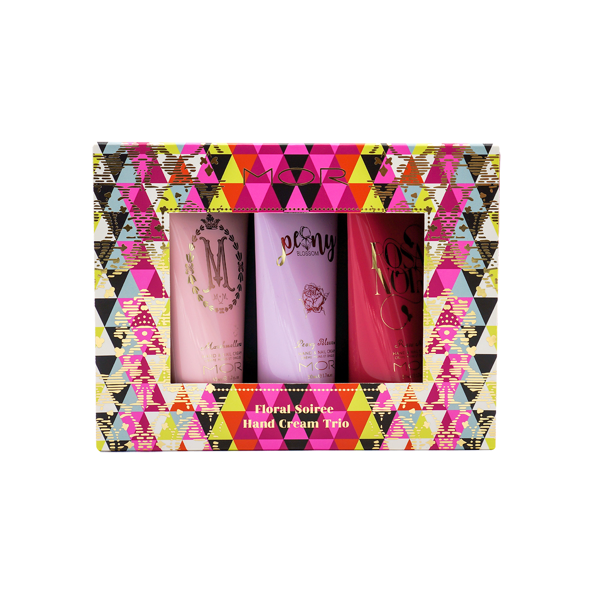 Mor - Floral Soiree Hand Cream Trio