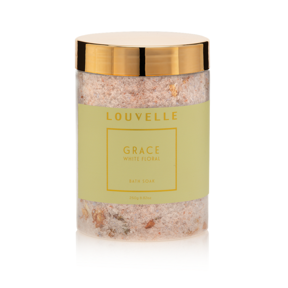 Louvelle - Grace White Floral Bath Soak