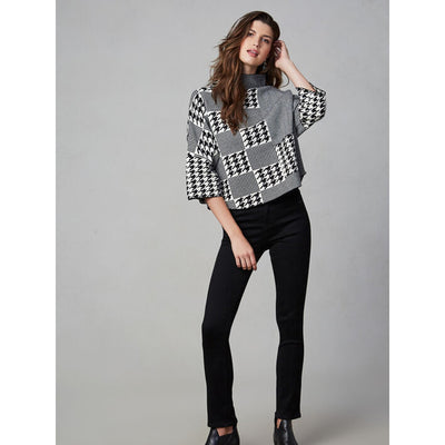 Gabby Isabella - Houndstooth Sweater