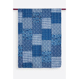 Indigo Patchwork Kantha Quilt / Throw / Table Cloth  - Melange Chic - 2