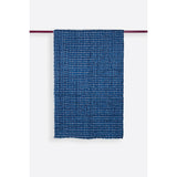 Carreaux Indigo Handprinted Reversible Cotton Handmade Quilt  - Melange Chic - 1