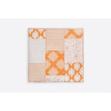 Nadia Cream & Ochre Patchwork Handprint Quilts  - Melange Chic - 4