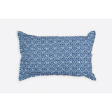Amreen Indigo Cotton Handprinted Reversible Kantha Stitch Duvet Cover  - Melange Chic - 5
