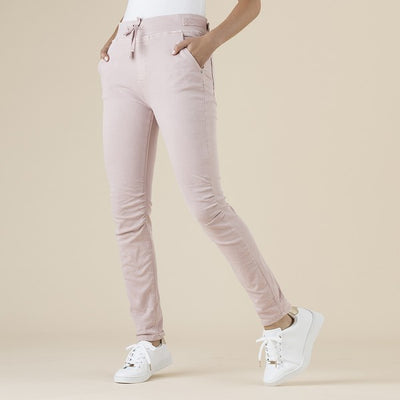 Threadz - Jogger Pant Pale Pink
