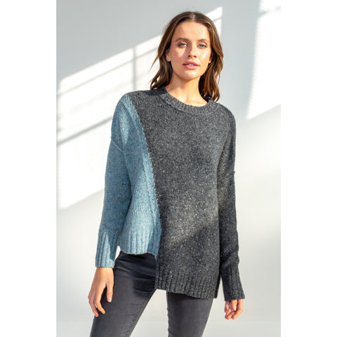 LD & CO Stem Hem Pullover