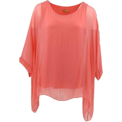 Wednesday Lulu -  Plain Silk Top