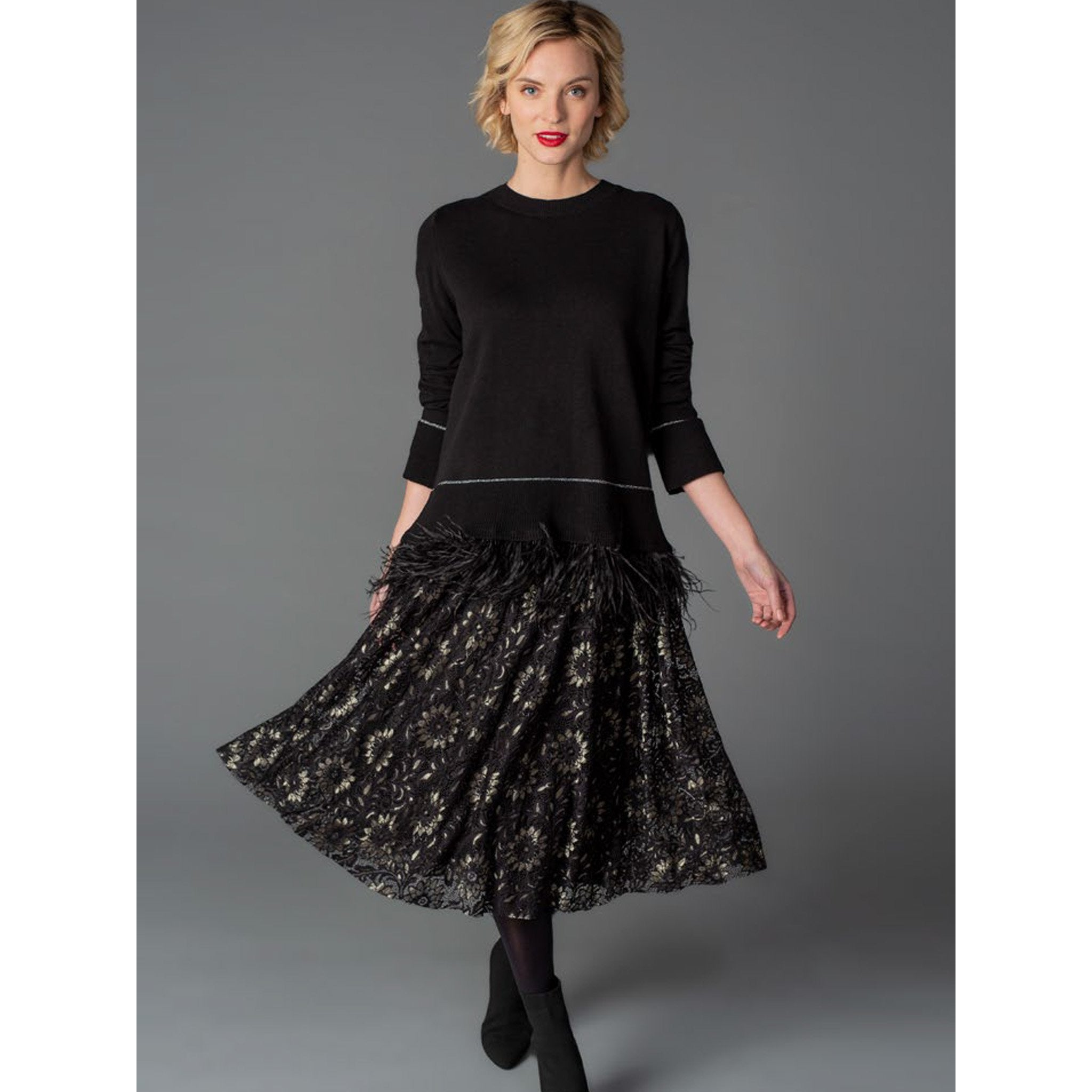 Gabby Isabella - Lace Skirt