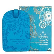 Intrinsic - Amalfi Blue Luggage Tag