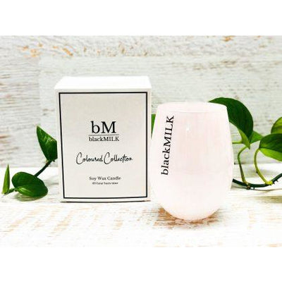 Black MILK - Marble Candle Pink