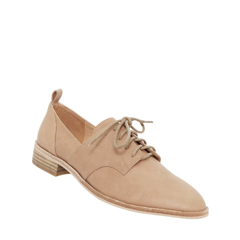 NUDE - MARLEY NATURAL LEATHER LACE UPS