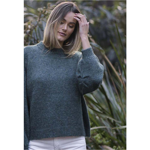 Humidity - Neve Jumper Green