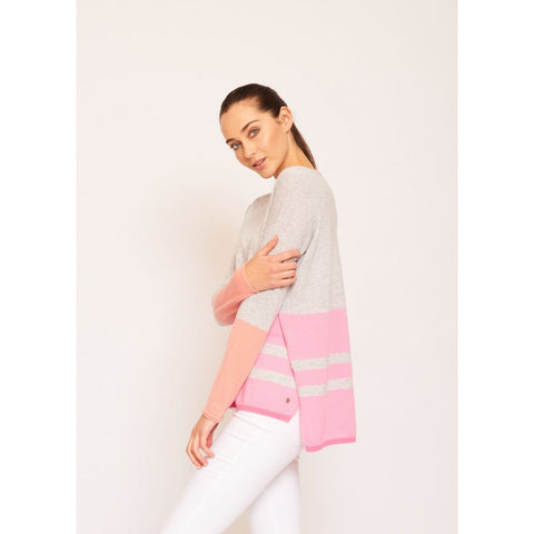 New Kid on the Block Cashmere Sweater in Pink