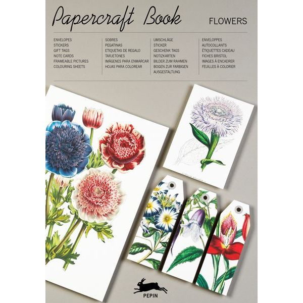 Paper Craft Books-Flowers