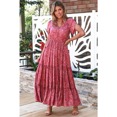 Dreamcatcher Lilian Maxi Dress