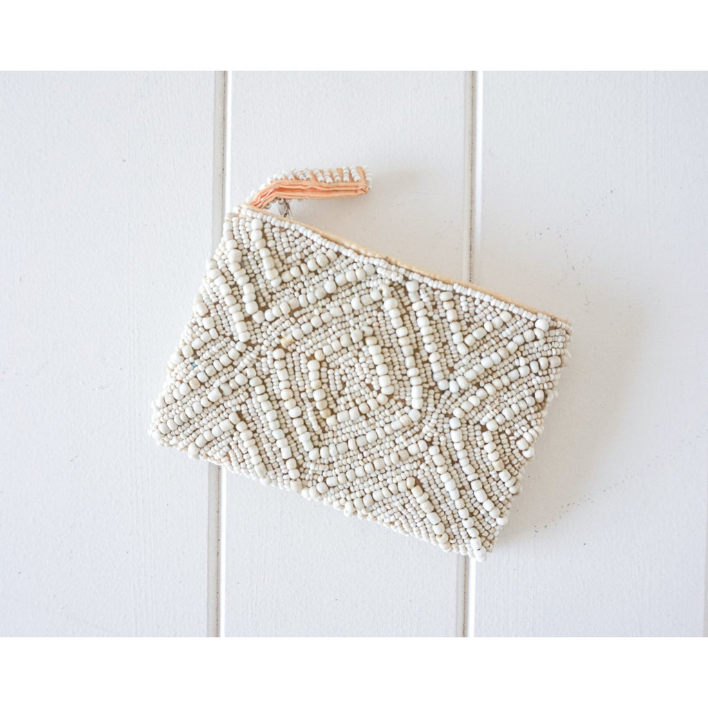 Rayell - Beaded Coin Purse (Plain)