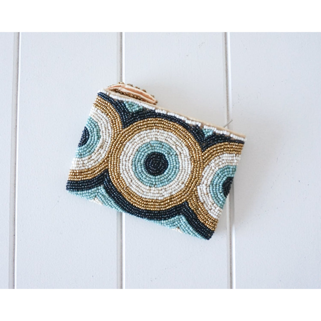 Rayell - Beaded Coin Purse (Circles)