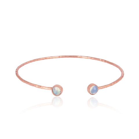 Ethiopian Opal Gemstone Bangle