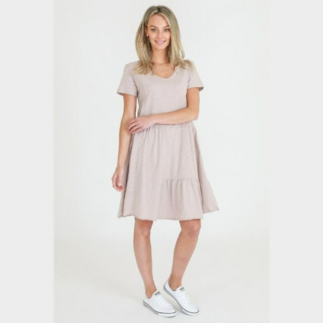 Ruby Dress - Oyster Pink