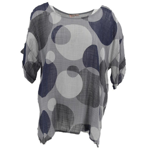 Wednesday Lulu - Cotton top with print