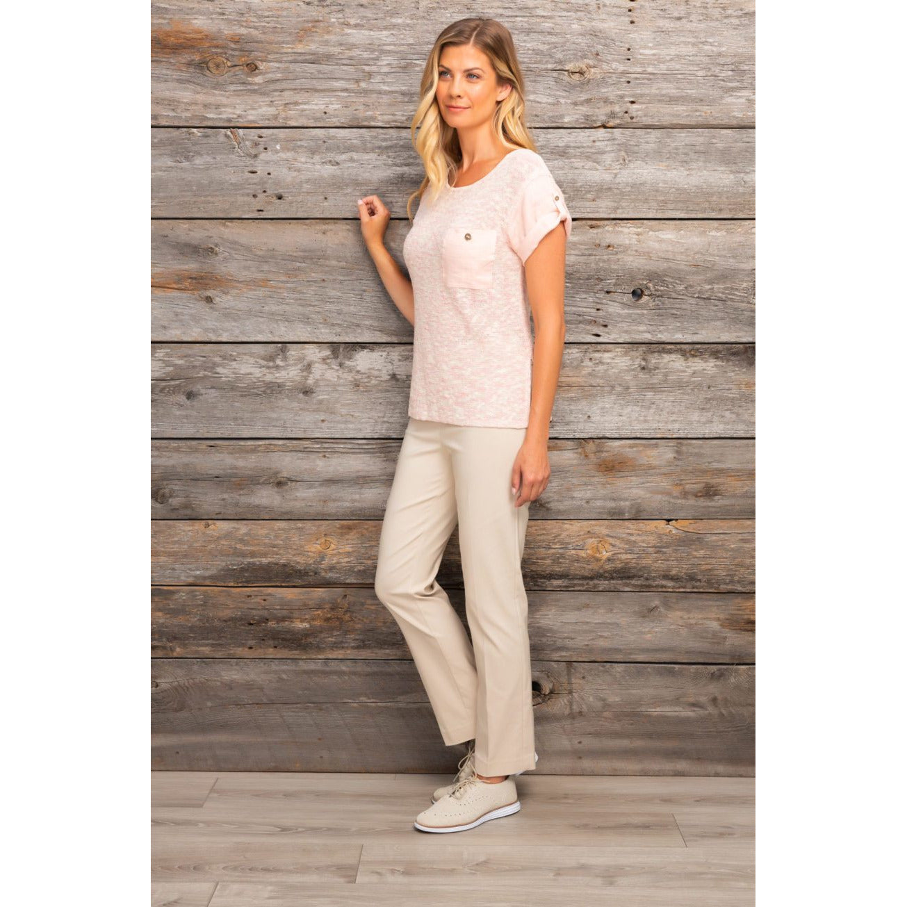 Spanner Tummy Control Sand shell Beige Pants