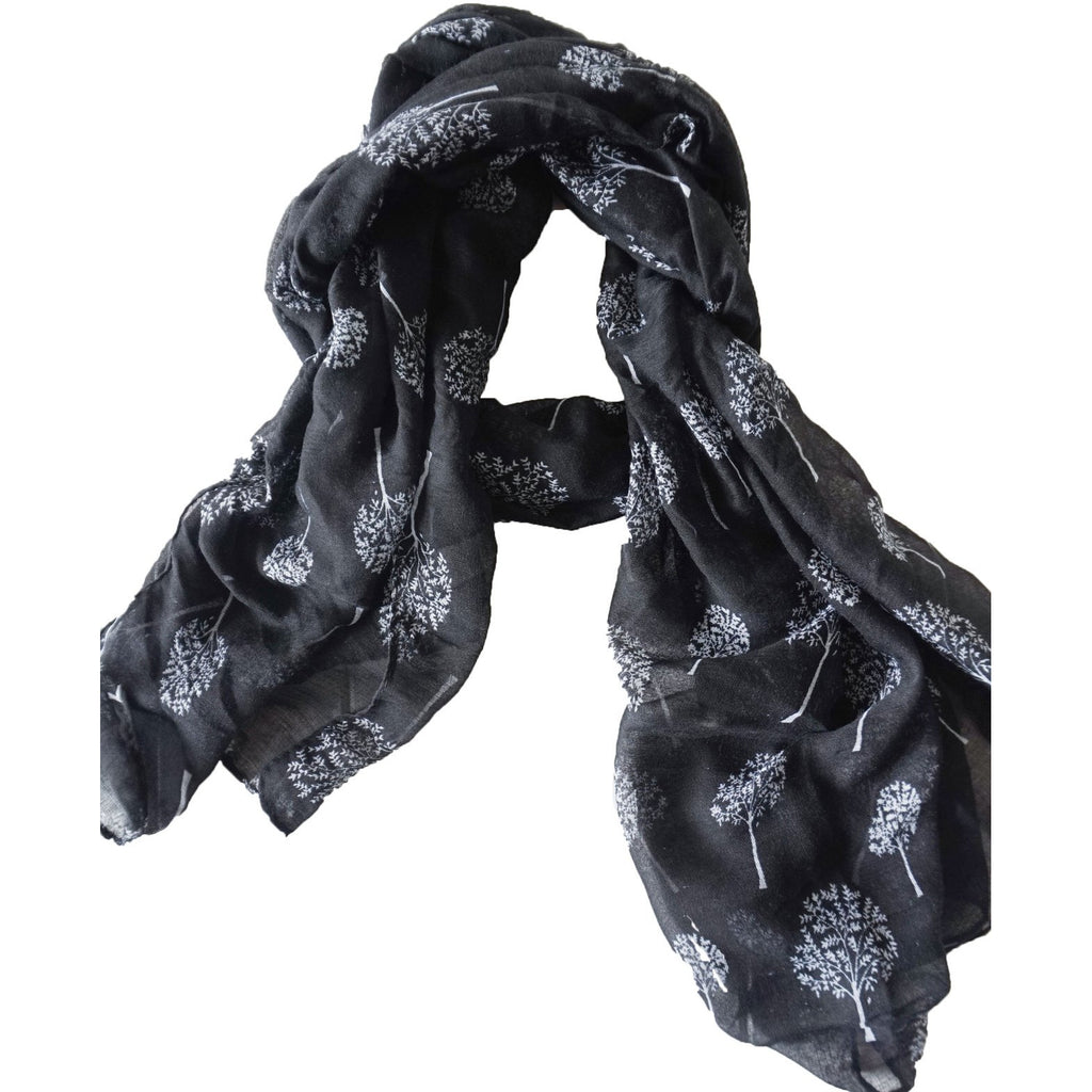 Rayell Scarf - Forrest Adventure Black