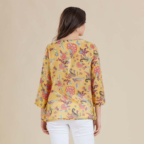 Gordon Smith - Gold Print Shirt