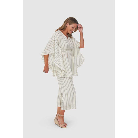 Kaja - Stacey Tunic Gold Stripe