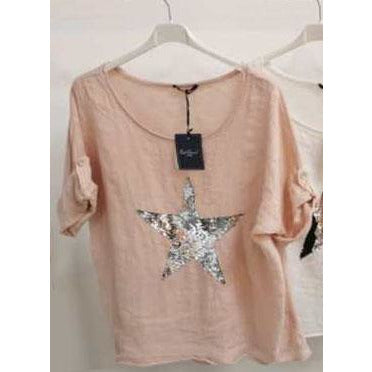 Wednesday Lulu - Star Sequin top