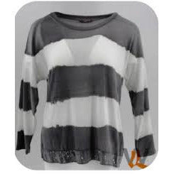 Wednesday Lulu - Viscose Top Stripe