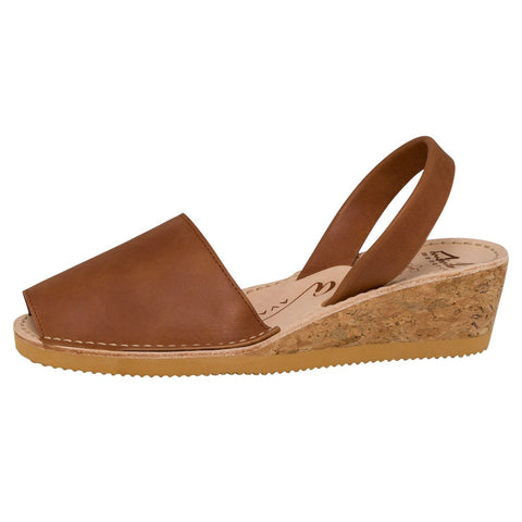 Avarcas - Tan Vintage Wedge