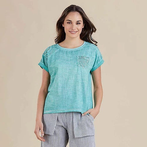 Threadz - Pocket Detail Top