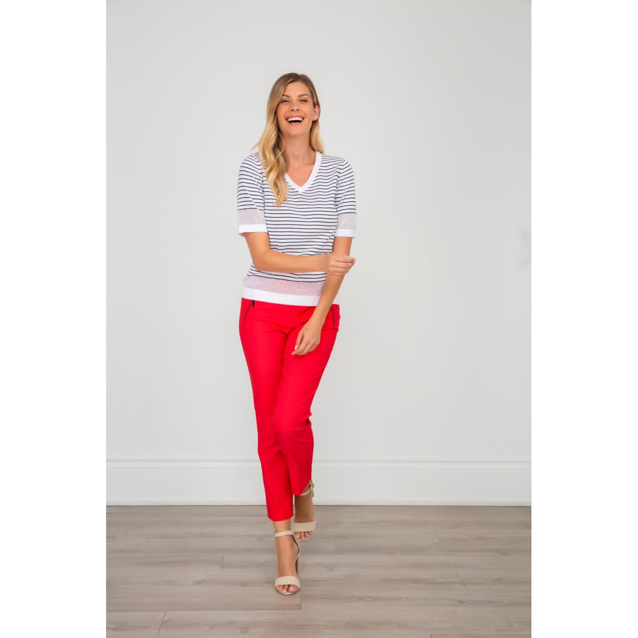 Spanner Tummy Control Tomato Red Pants