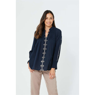 Kaja - Valerie Top Navy