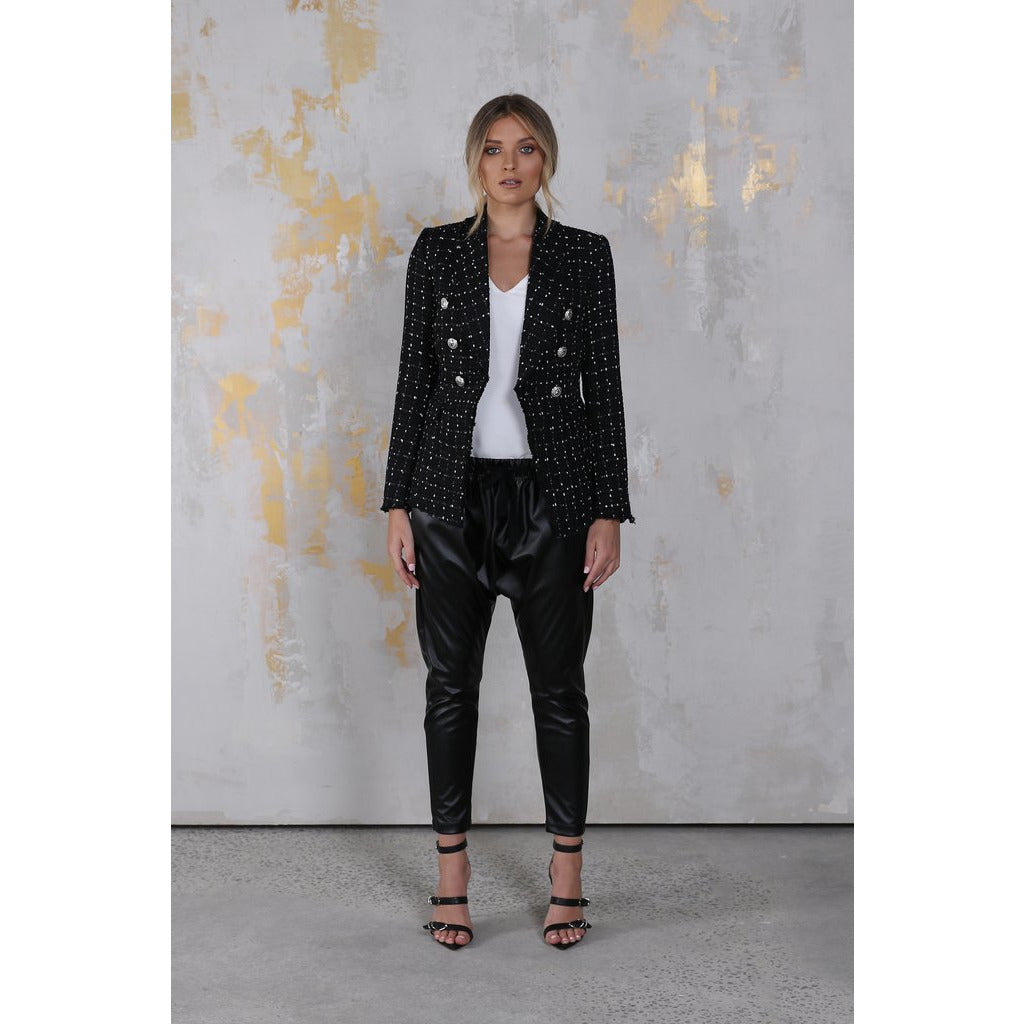 Madison Wynter Blazer - Black