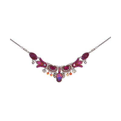 Ayala Bar - C3256 Deep Fuchsia Necklace