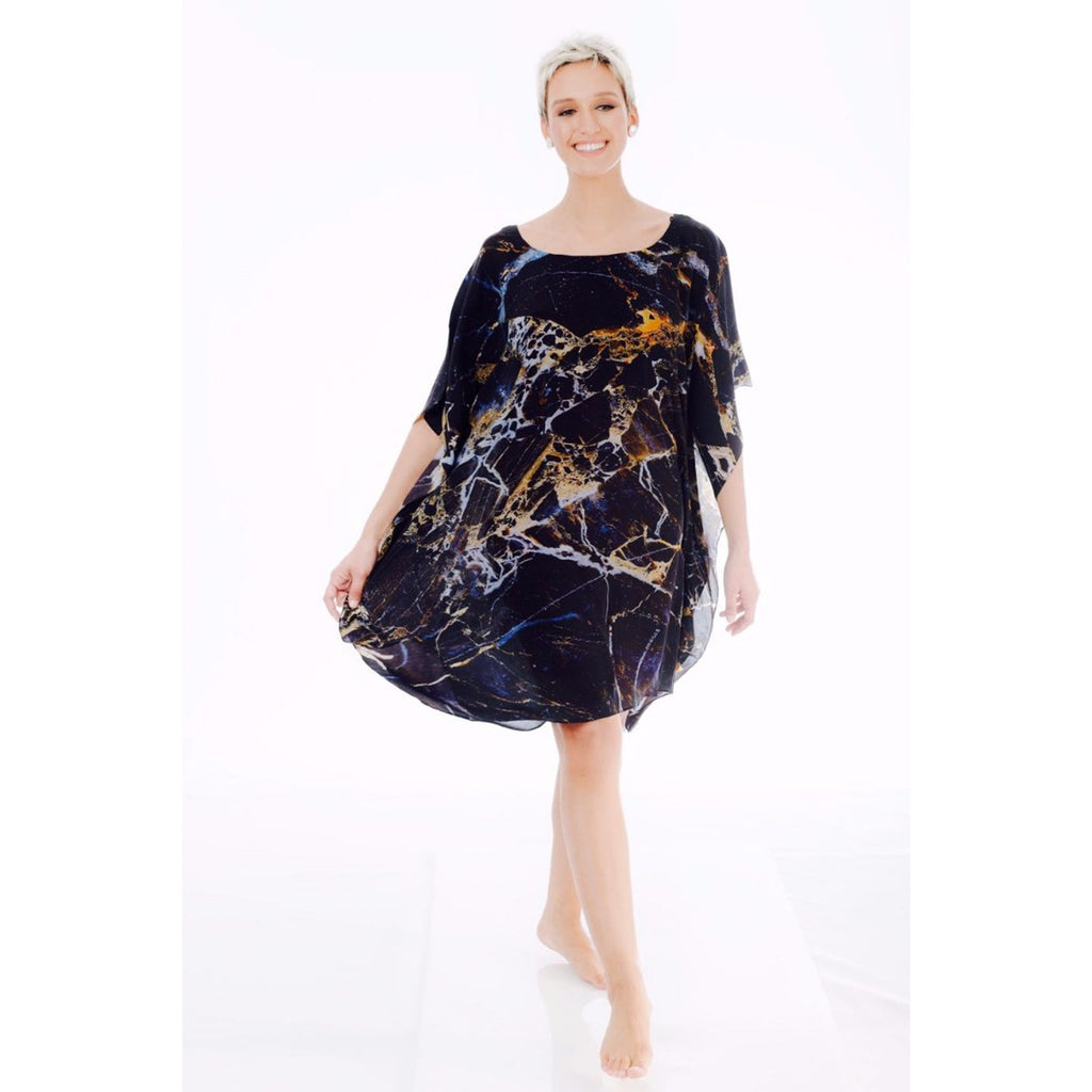 Black Constellations - Short Kaftan