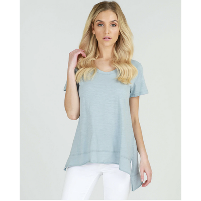 Brighton Tee - Mint Blue