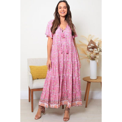 Dreamcatcher Fiona Maxi Dress
