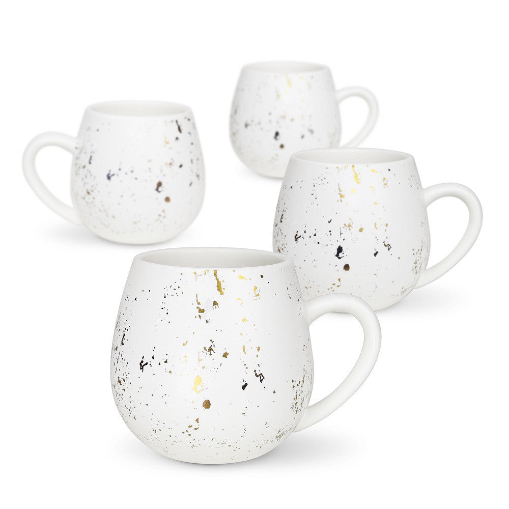 Robert Gordon Hug Me Mug Gold Speckle Mediterranean Set