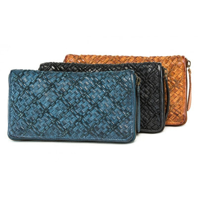 Fullgrain Grape Ladies Wallet