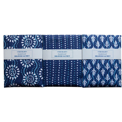 Thurlby - Indigo Drawer Sachet