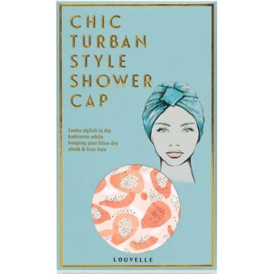 Louvelle amelie shower cap in Peach Papaya