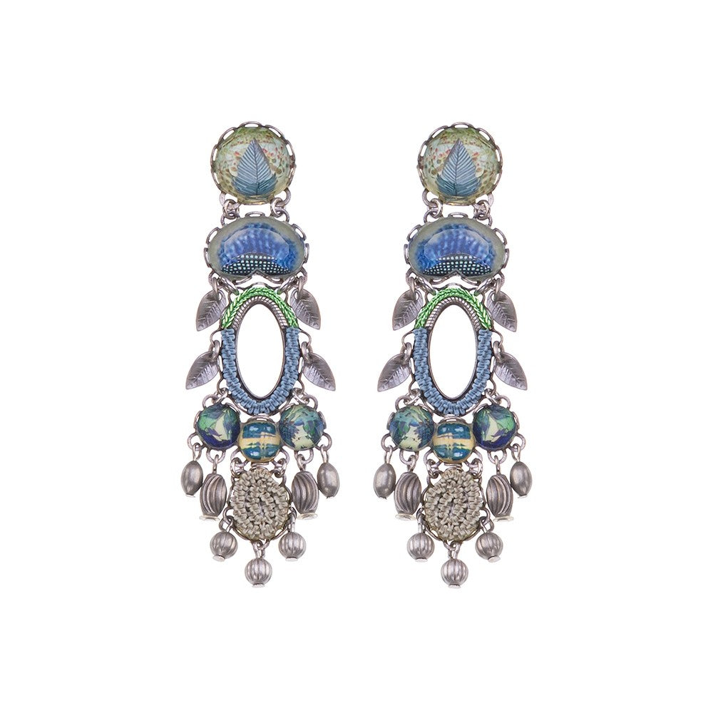 Ayala Bar - R1383 New Dawn Saturna Earrings
