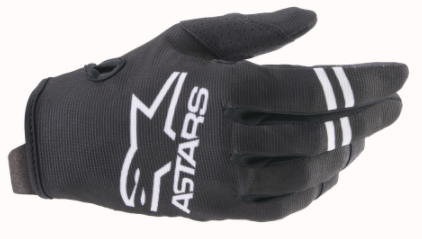 2021 YOUTH RADAR GLOVES - BLACK/WHITE