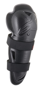 2021 BIONIC ACTION YOUTH KNEE PROTECTOR - BLACK/RED - ONE SIZE