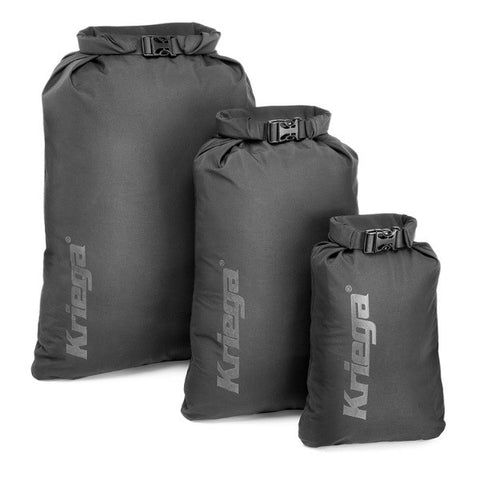 KRIEGA ROLL TOP DRY BAG MEDIUM (19 LITRE) 100% WATERPROOF