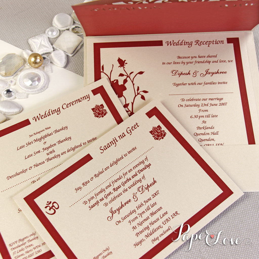 Attractive Asian Wedding Invites Model - Resume Ideas ...