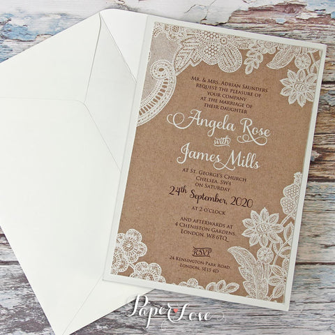 Eko Handmade Butterfly High Quality Parchment Day Invitations ...