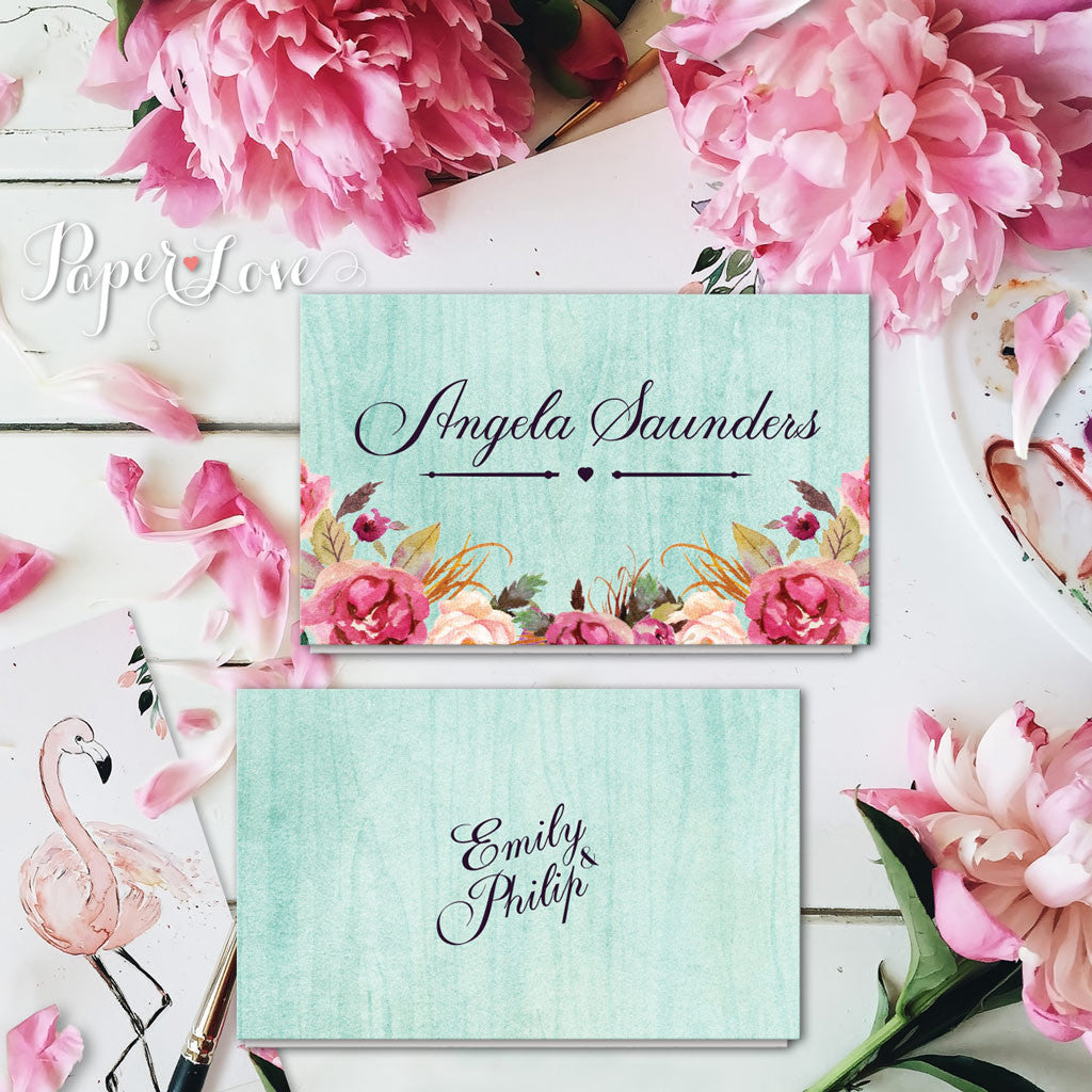 Beautiful Flowers For Weddings: Beautiful Rustic Flowers With Mint Background Wedding Day