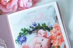 Personalised Baby Invitations with a photo - for Baby Girl - Baptism, First Year, Birthday